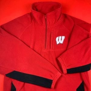 Wisconsin Badgers Sweater Mens Large NCAA College